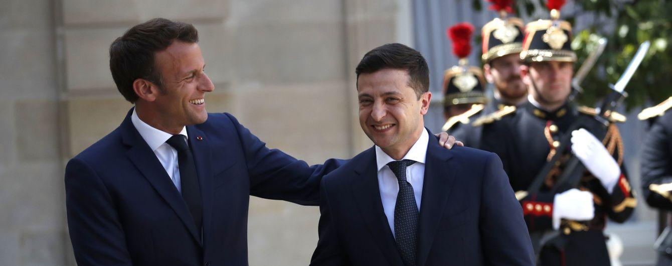 """Франция поддержала желание Зеленского встретиться в """"нормадском формате"""", но при одном условии"""