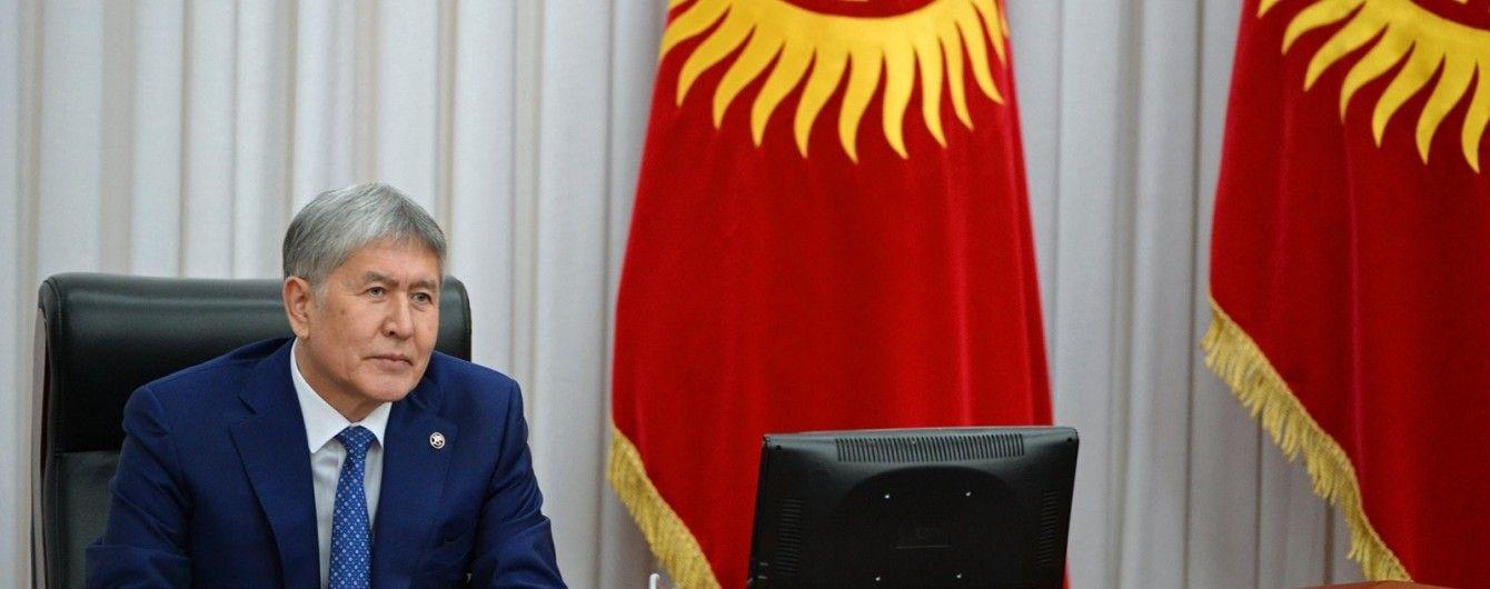 У Киргизстані арештували телеканал затриманого експрезидента