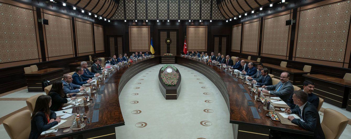 Крим та інвестиції: про що говорили в Анкарі Зеленський та Ердоган