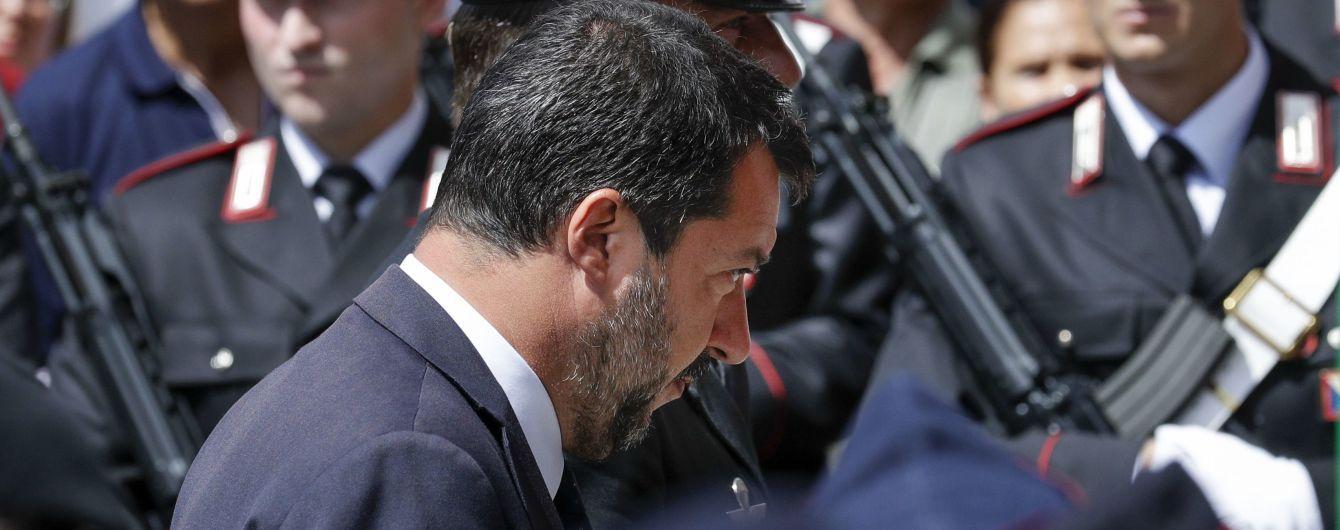 Корупційний скандал в Італії: суд конфіскує 49 млн євро у партії очільника МВС Сальвіні