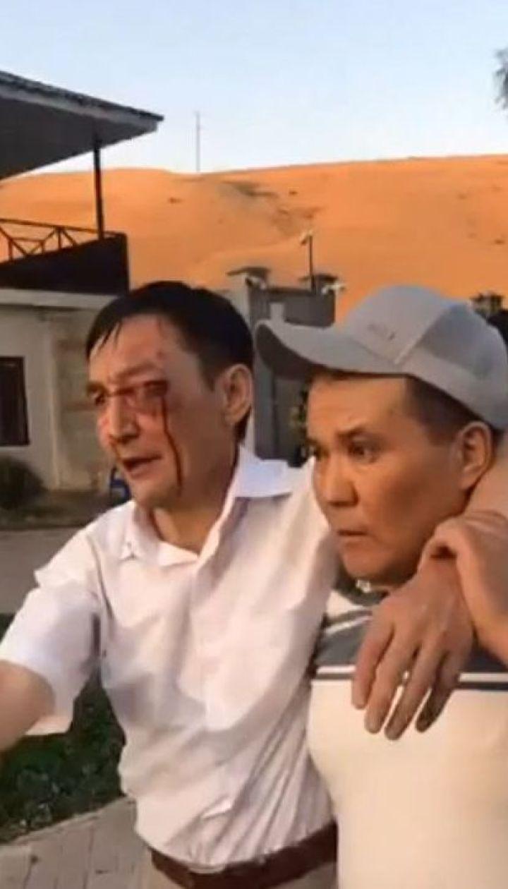 При попытке задержать екс-президента Кыргызстана погиб один спецназовец