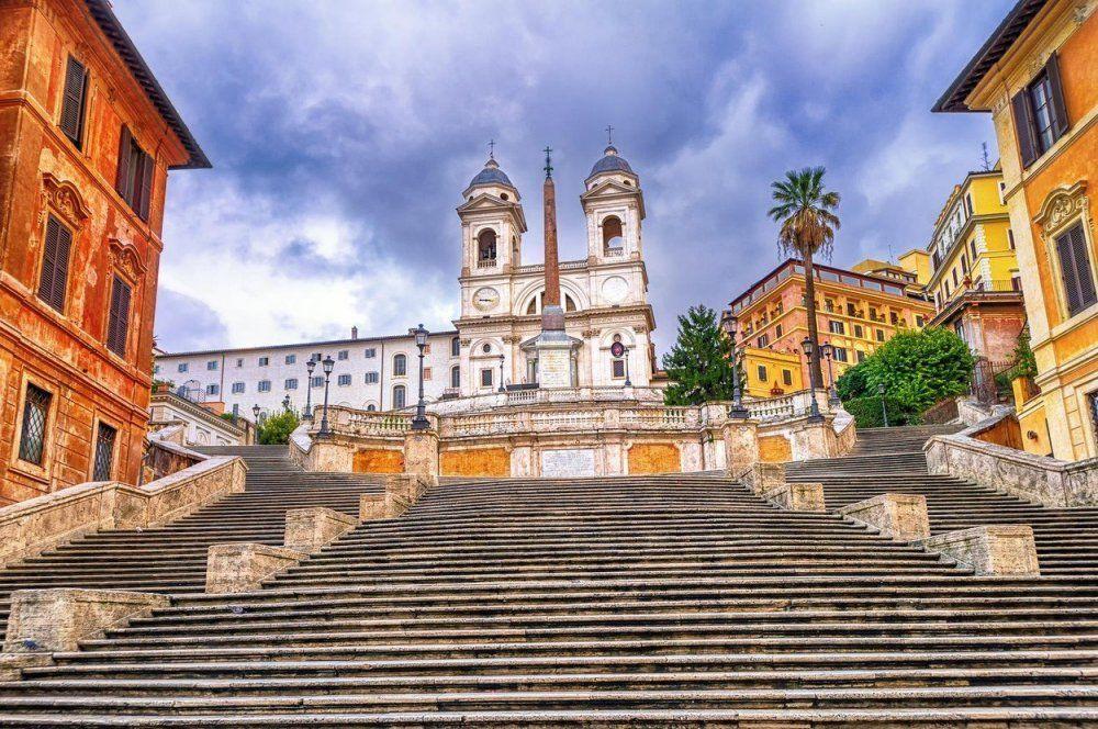 Іспанські сходи, Італія, Рим