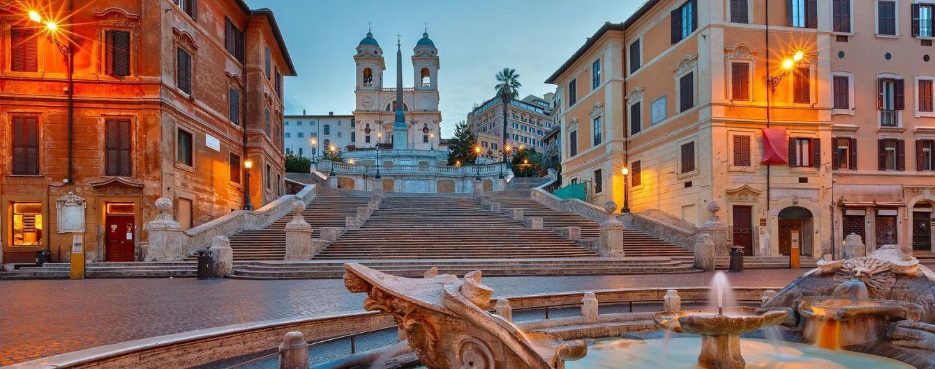 В Риме туристам запретили сидеть на знаменитых Испанских ступенях