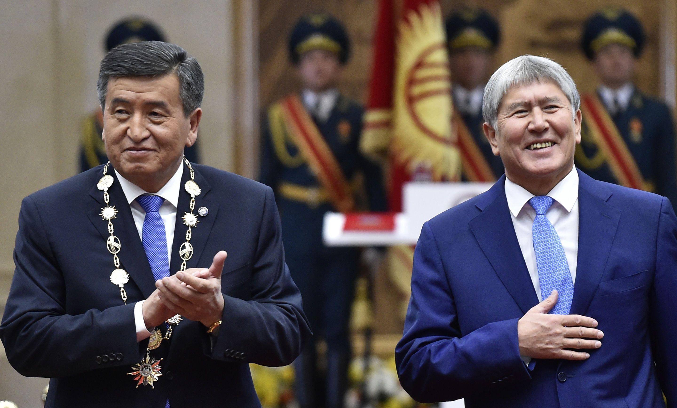 Сооронбай Жеєнбеков, Атамбаєв