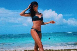 Домініканські канікули: Поліна Логунова в бікіні продемонструвала бездоганне тіло