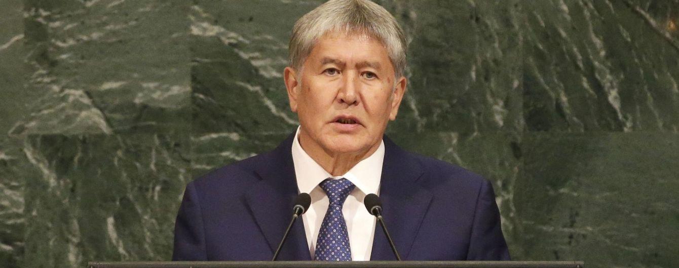 Спецназ задержал экс-президента Кыргызстана Алмазбека Атамбаева