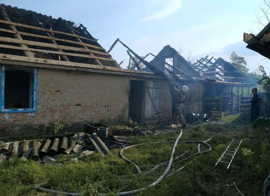 На Полтавщині в згорілому будинку знайшли тіло 4-річної дитини