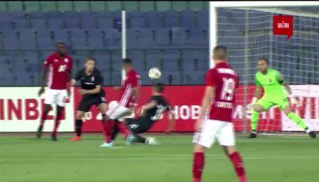 ЦСКА(Софія) - Зоря - 1:0. Відео голу Евандро