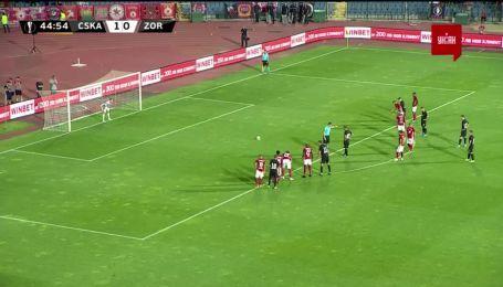 ЦСКА (Софія) - Зоря - 1:1. Відео голу Юрченка