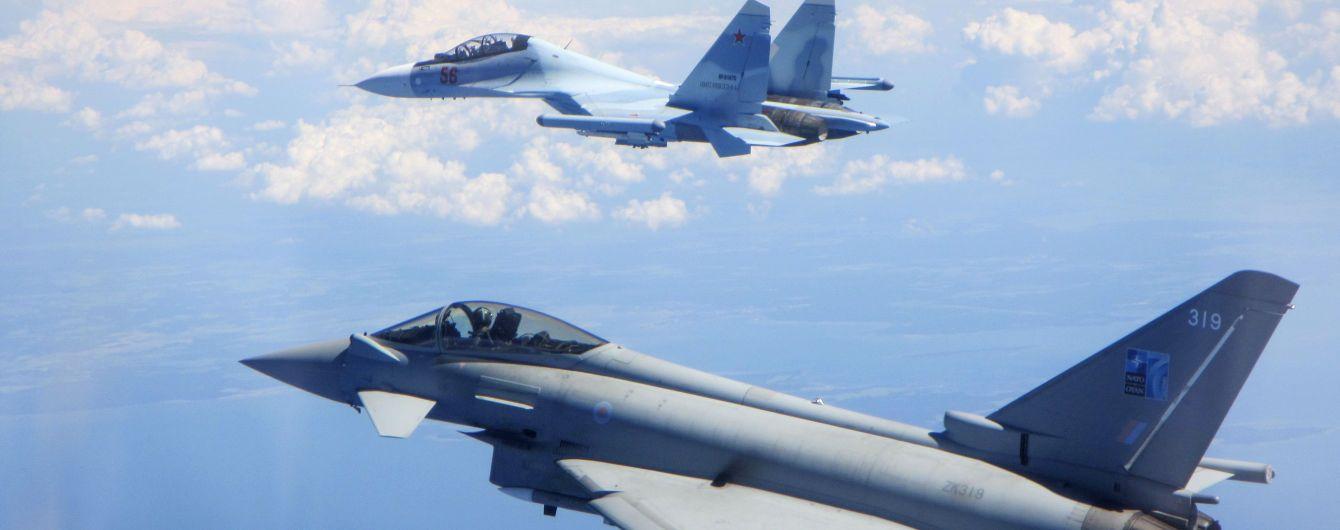 Британские истребители второй раз за неделю вынуждены были перехватывать военные самолеты РФ