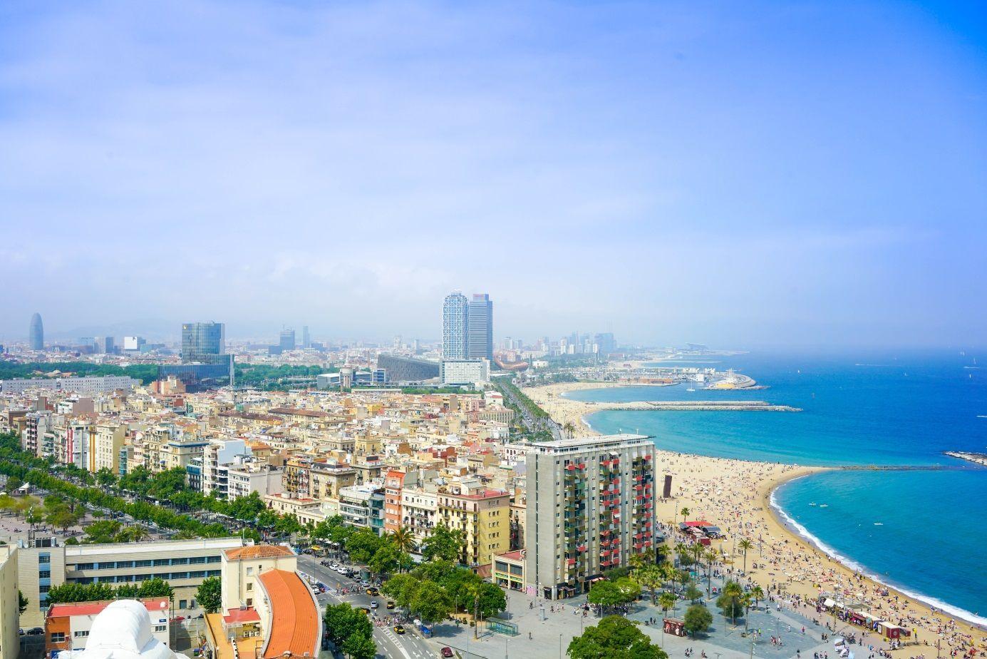 Барселона, пляж