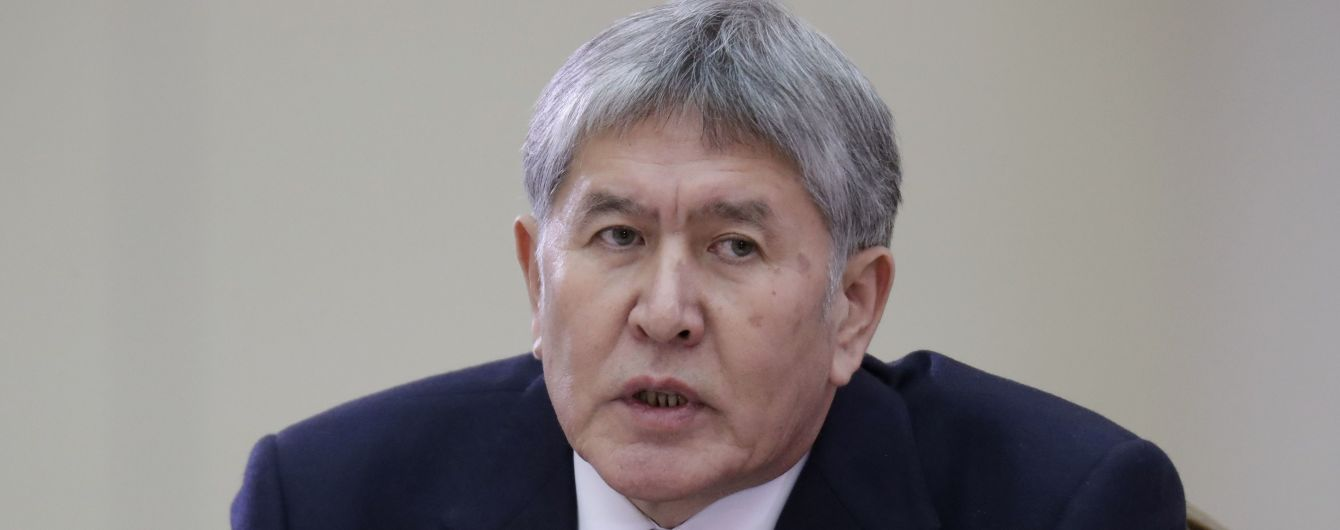 Арестованный бывший президент Кыргызстана отказался сотрудничать со следствием