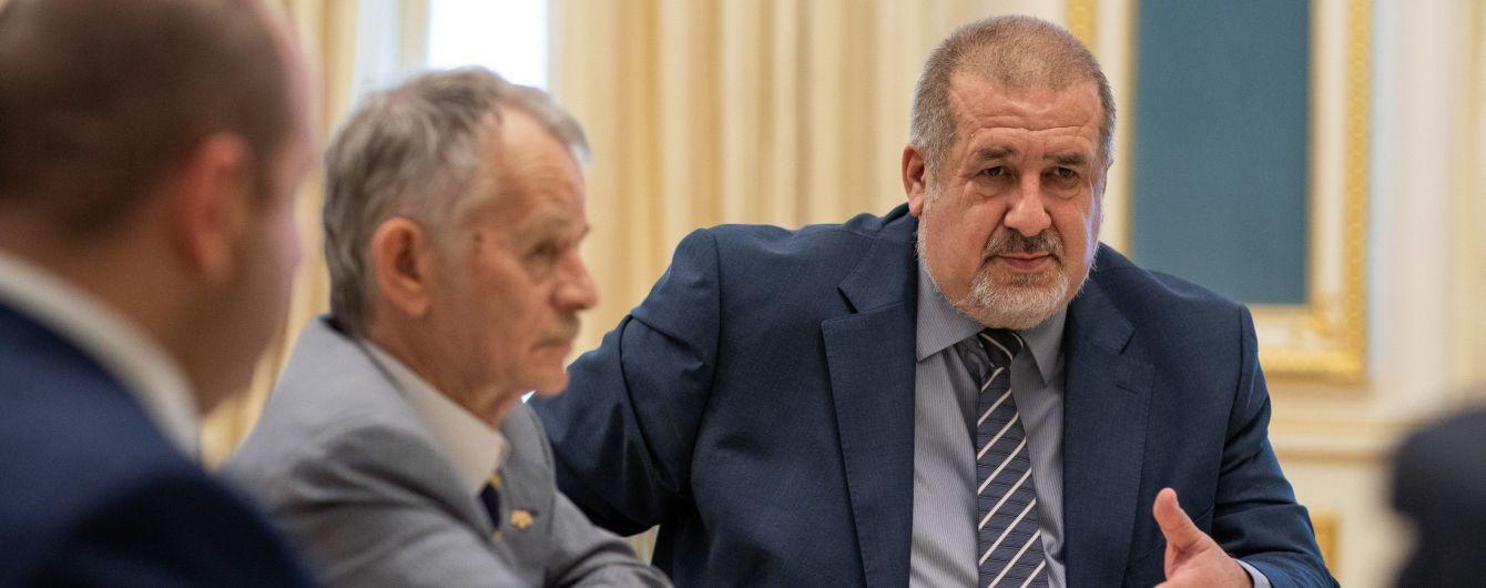 Зеленський зустрівся з лідерами кримськотатарського народу: про що говорили