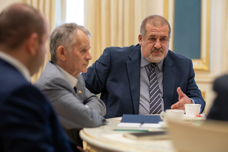 Рефат Чубаров, Мустафа Джемілєв