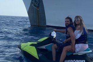 Хайди Клум показала, как активно проводит медовый месяц с молодым мужем