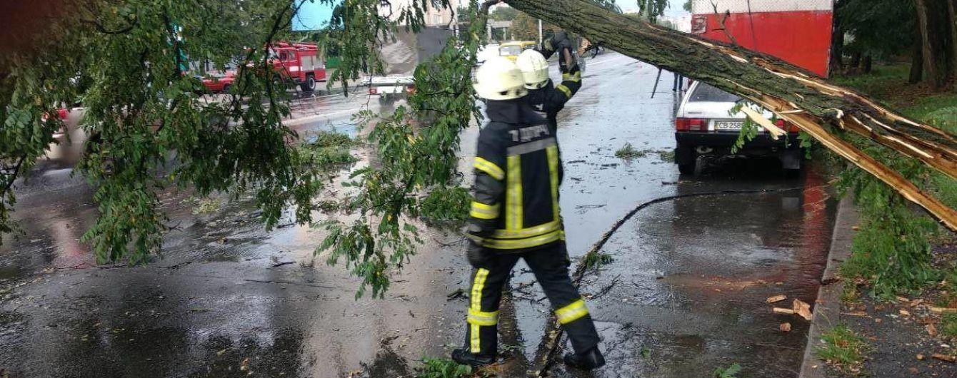 Ураган у Києві: столиця зупинилася в заторах