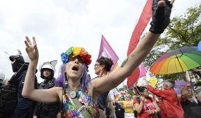 Перший прайд-парад у Плоцьку став ареною передвиборчої боротьби в Польщі