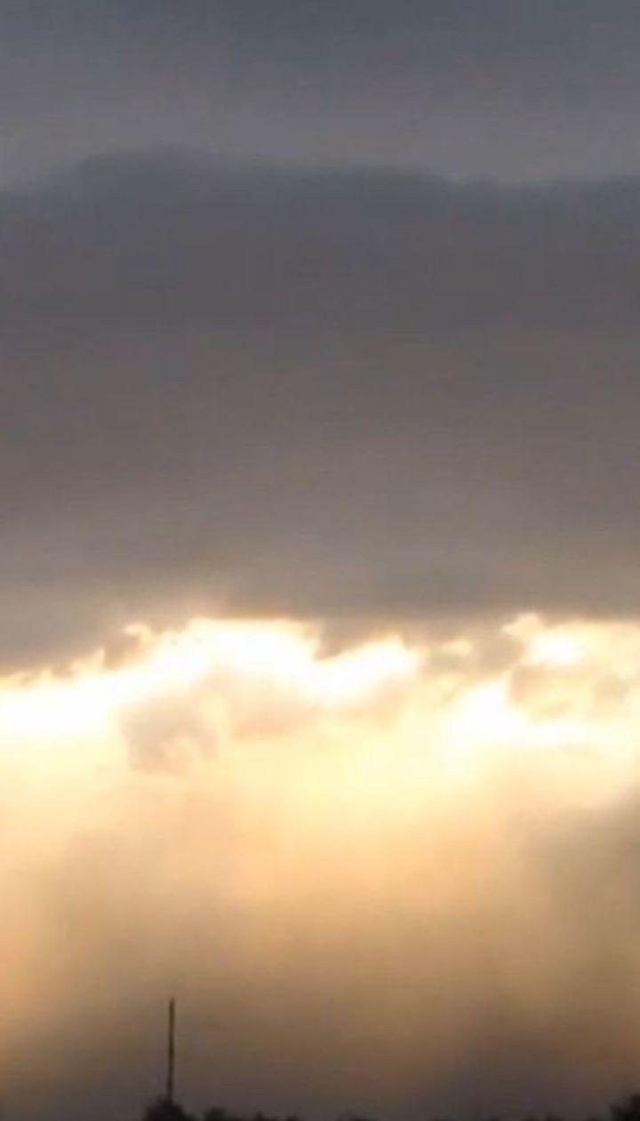 Пыльные бури накрыли несколько населенных пунктов в Запорожской области