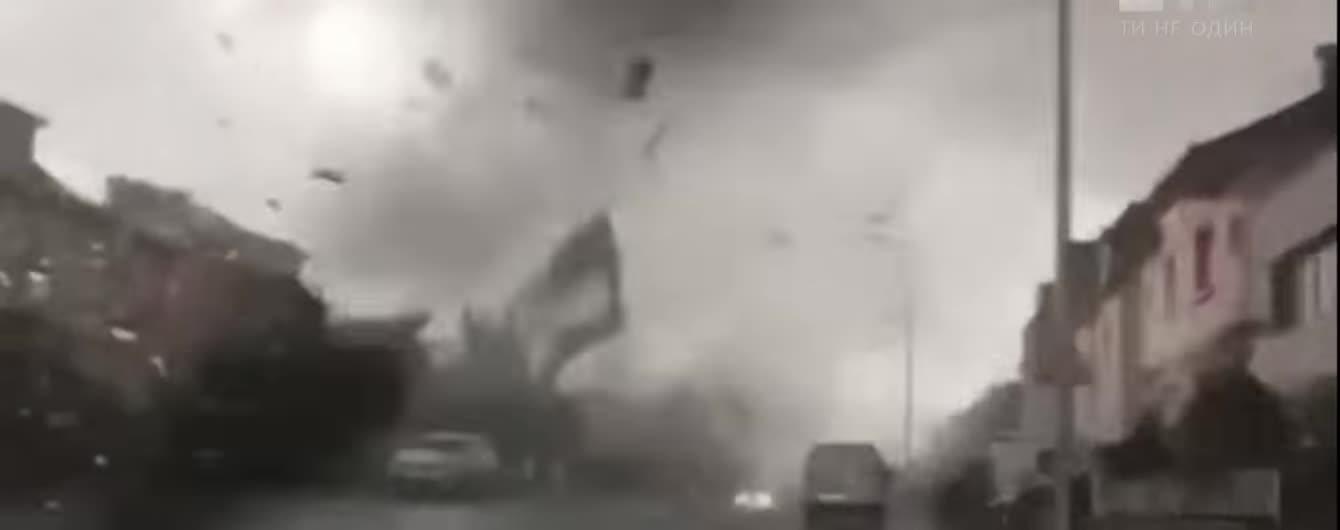 Торнадо в Люксембурге разрушило полторы сотни домов и травмировал два десятка людей