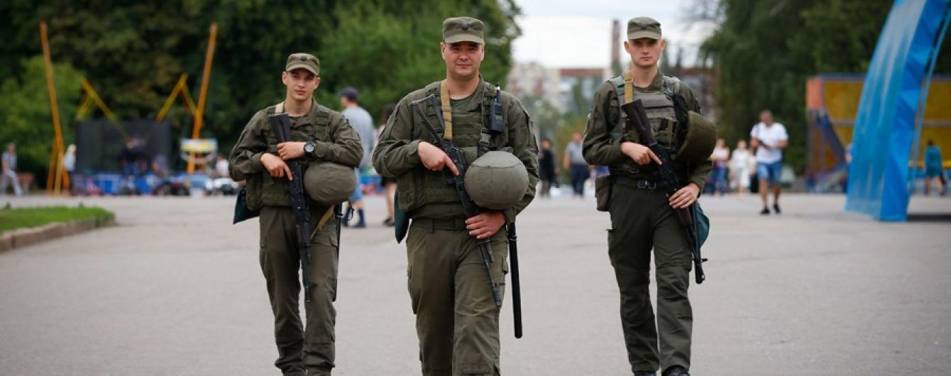 За первую неделю самостоятельного патрулирования нацгвардейцы задержали больше трех десятков нарушителей