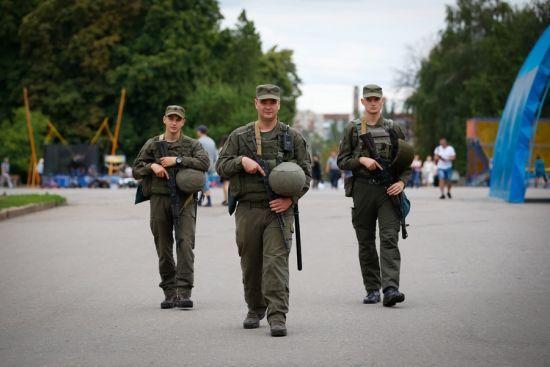 За перший тиждень самостійного патрулювання нацгвардійці затримали понад три десятки порушників