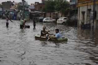 На півдні Індії внаслідок повеней загинули 93 людини