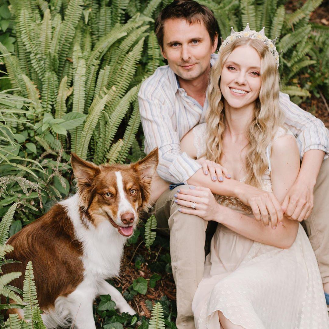 Меттью Белламі з дружиною_1