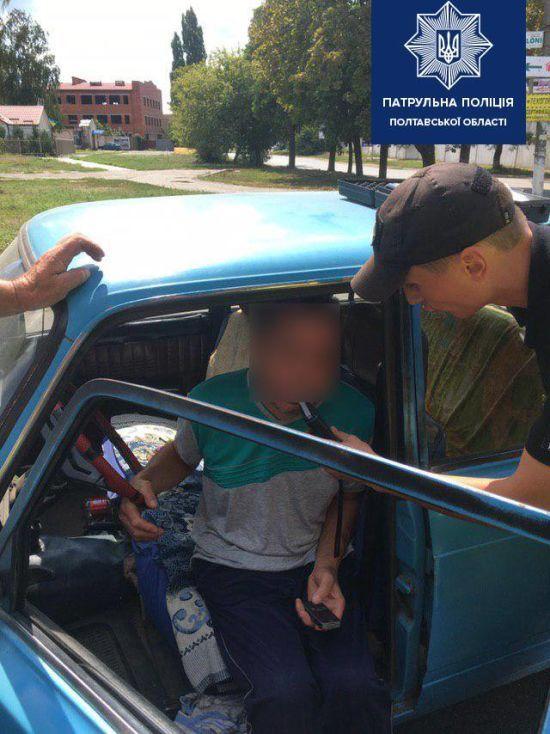 За добу патрульні спіймали двох нетверезих водіїв, один із них був рекордно п'яний