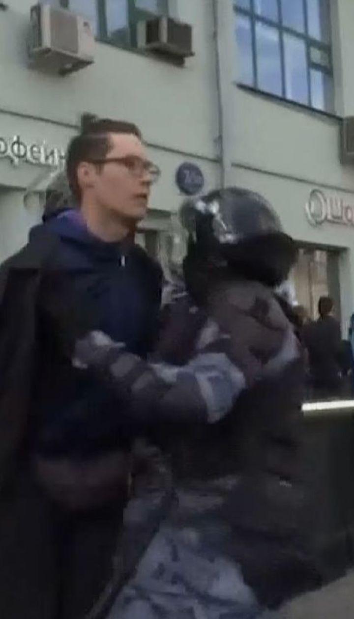 352 человека задержали в России во время самых масштабных массовых протестов с 2011 года