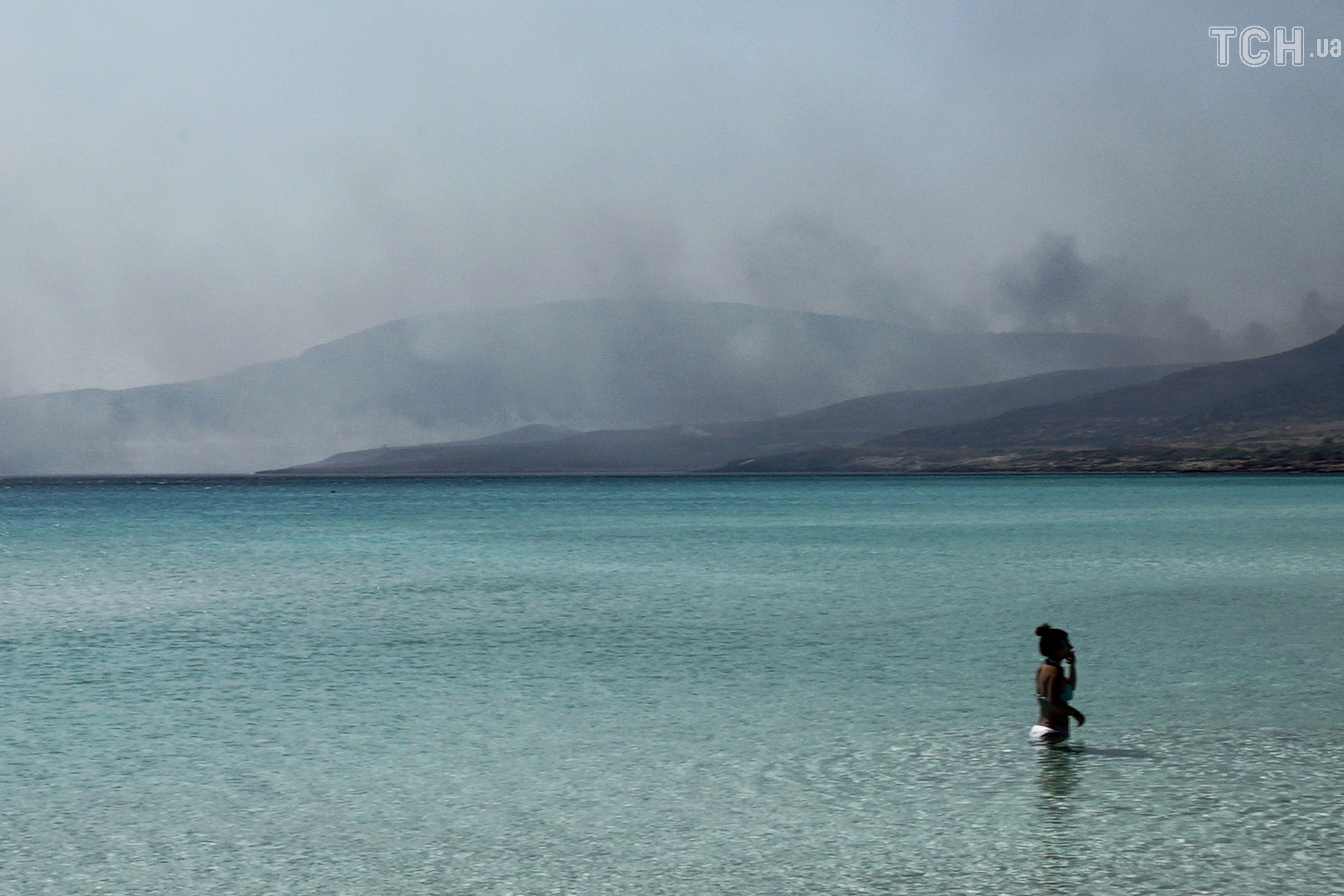 Лісові пожежі, Греція_2