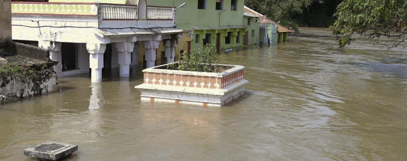 Повінь в Індії забрала вже півтори сотні життів