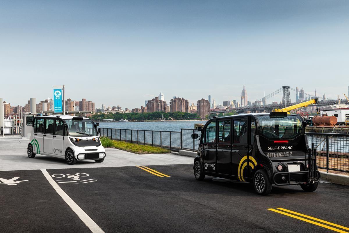 автобуси-безпілотники, Нью-Йорк