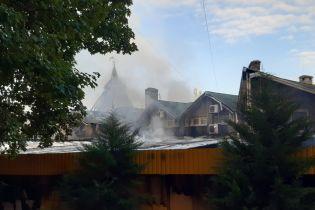 В Донецкой области горел рынок