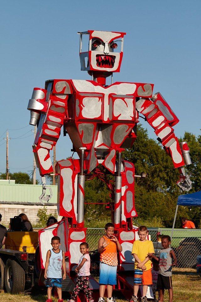 """""""Дикий робот"""" Пітера Брауна, фестиваль Кливленд"""