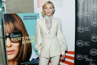 В элегантном костюме от Fendi: красивая Кейт Бланшетт представила свой новый фильм