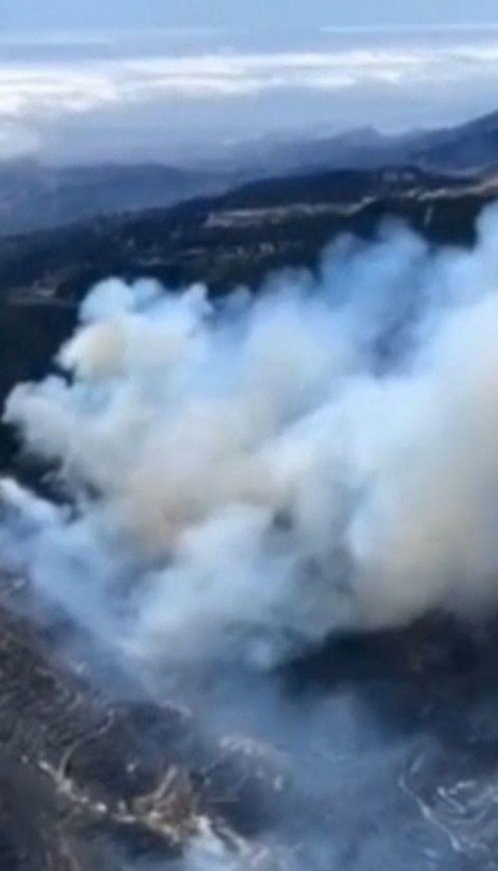 Потужний шторм і нищівні пожежі вирують в Європі