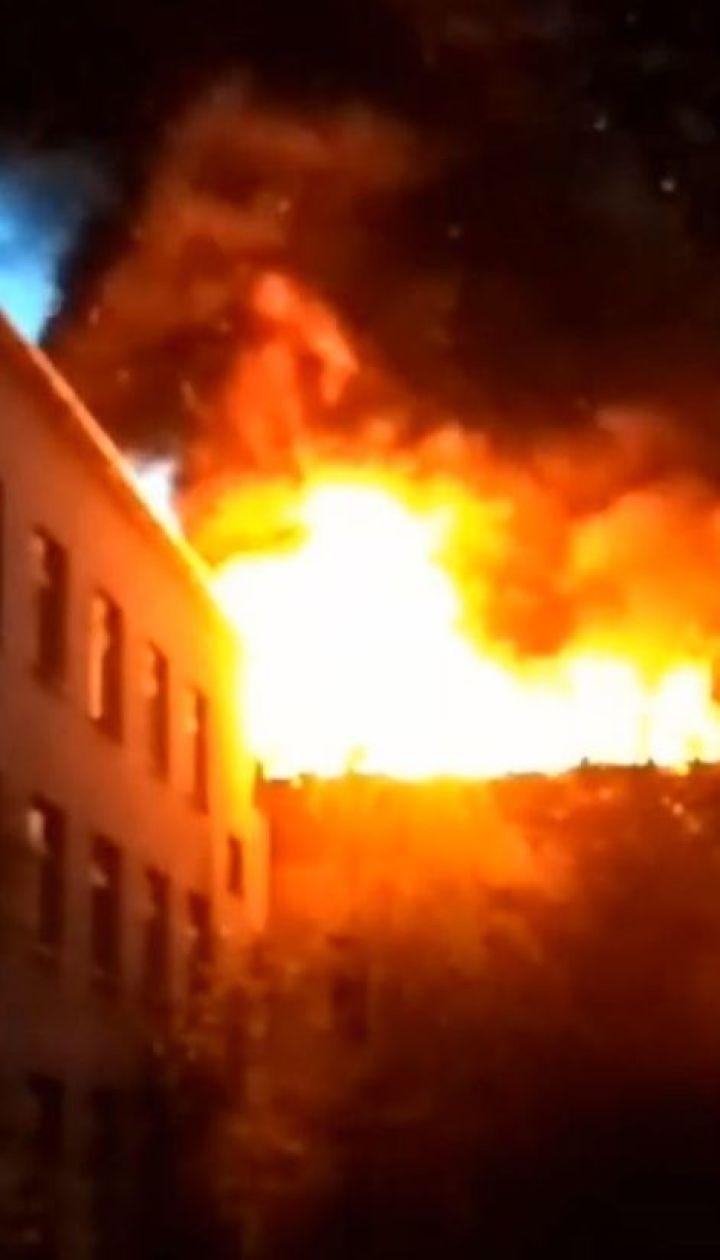 Масштабна пожежа сталася у закарпатській школі