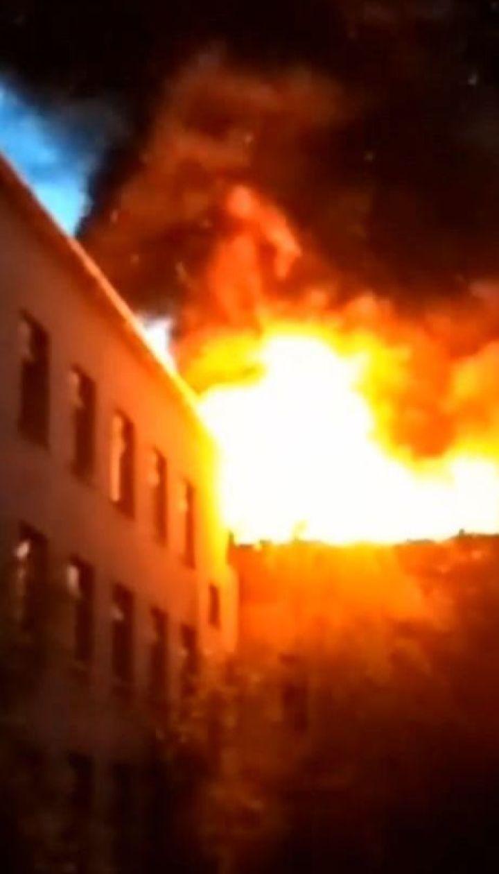 Масштабный пожар произошел в закарпатской школе