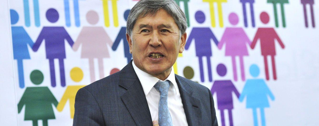 Колишнього президента Киргизстану Атамбаєва засудили до 11 років в'язниці