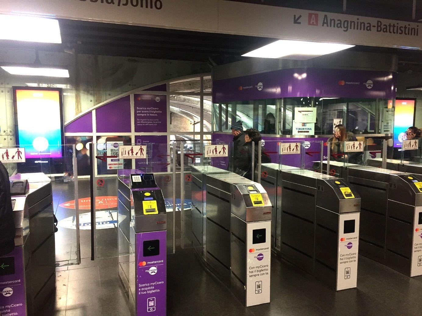 Рим, метро