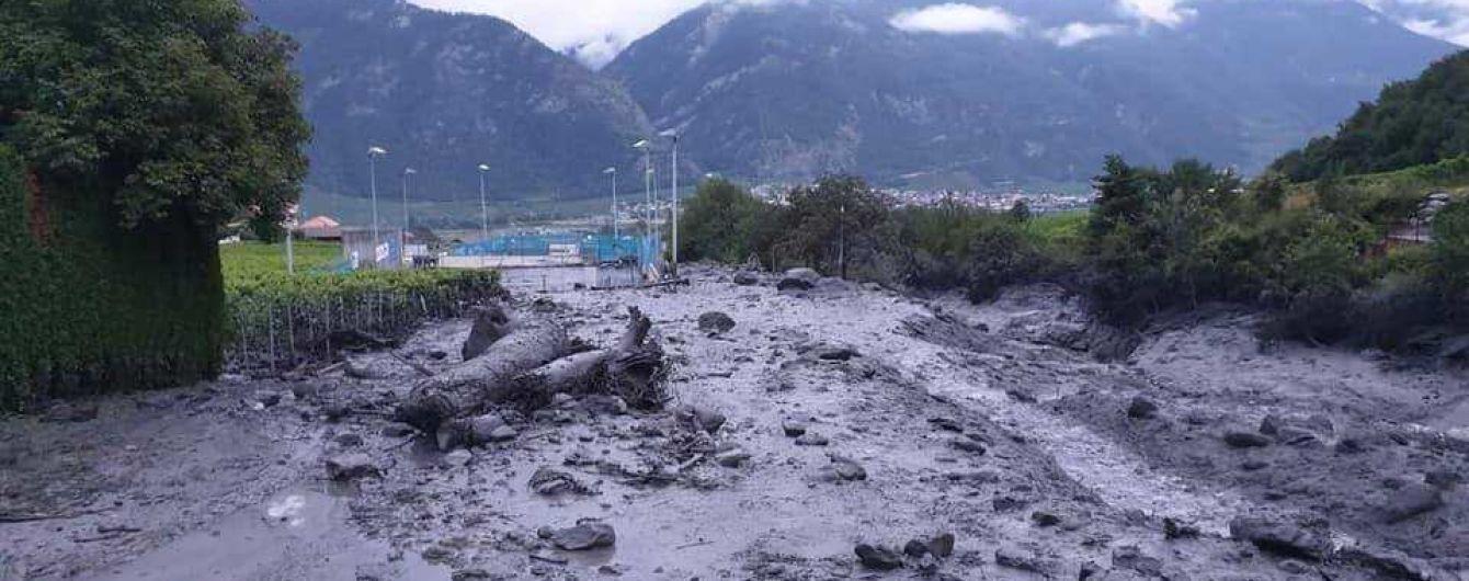 Швейцарське місто накрив потужний селевий потік. Двоє людей зникли безвісти