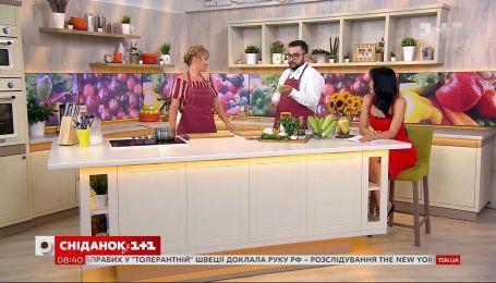 Салат из свежих кабачков - рецепт от кулинарного блогера Дарьи Дорошкевич
