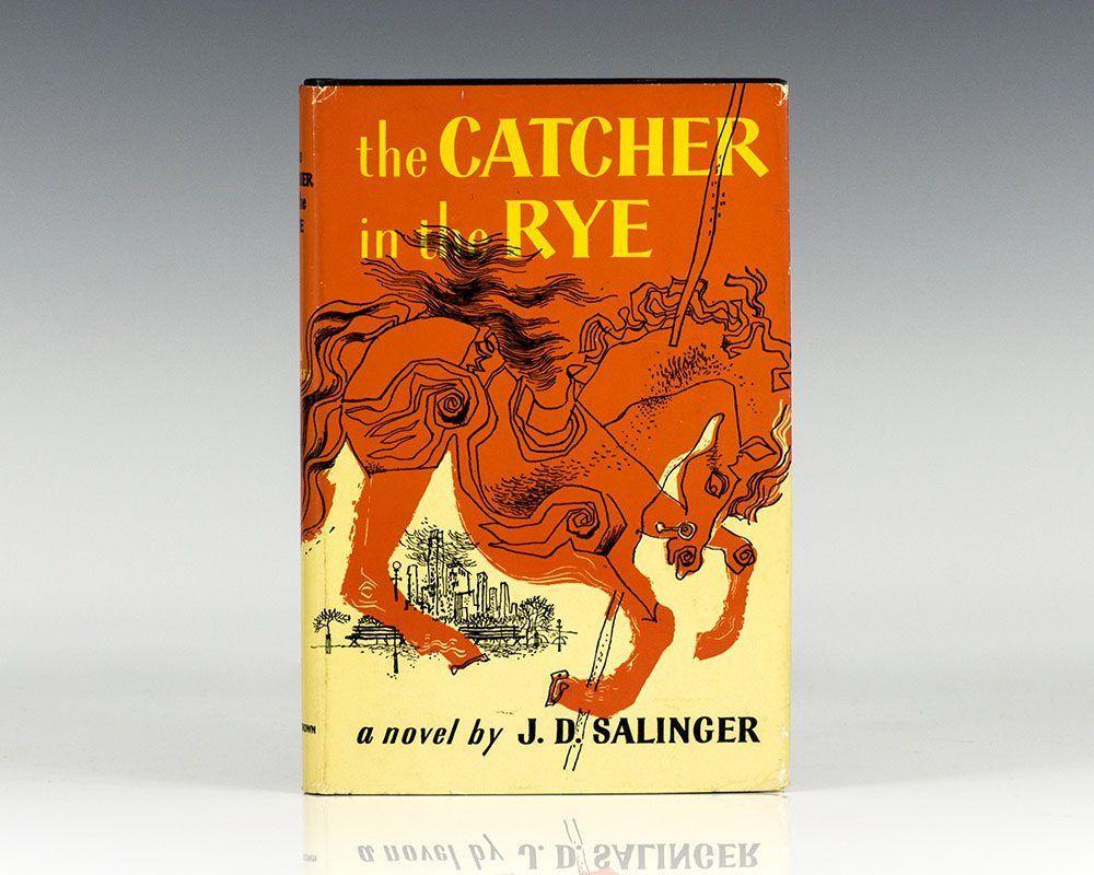 """роман Джерома Селінджера """"Ловець у житі"""""""