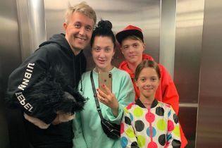 Супруги Бабкины с полуторамесячным ребенком отправились на отдых за границу
