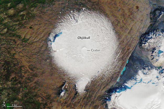 Як зник льодовик Окьокулл