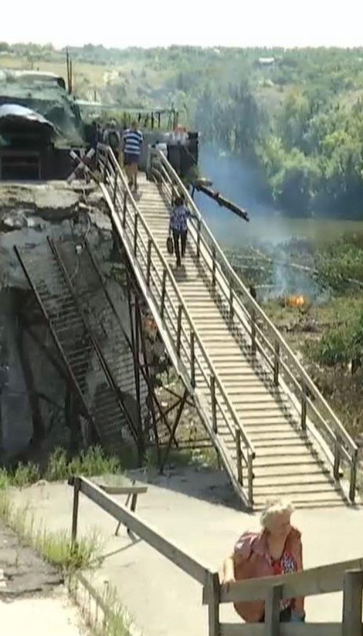 Боевики не дают украинским чрезвычайникам разминировать территорию в Станице Луганской