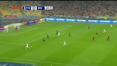 Динамо - Брюгге - 2:1. Відео голу Шепелєва