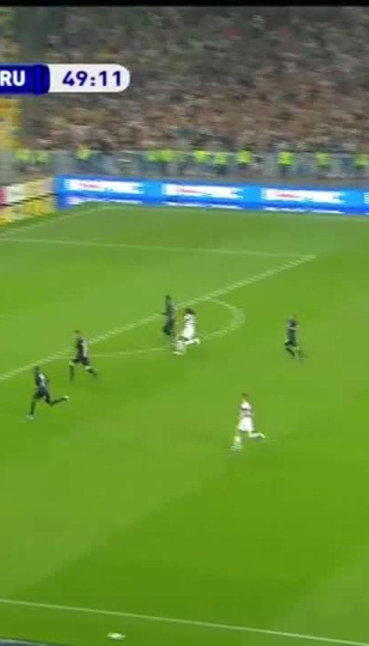 Динамо - Брюгге - 2:1. Видео гола Шепелева