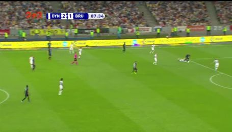 Динамо - Брюгге - 2:2. Видео гола Вормера