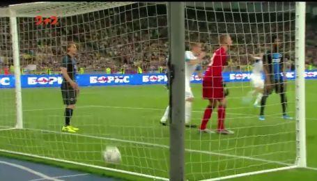 Динамо - Брюгге - 3:2. Видео гола Мехеле
